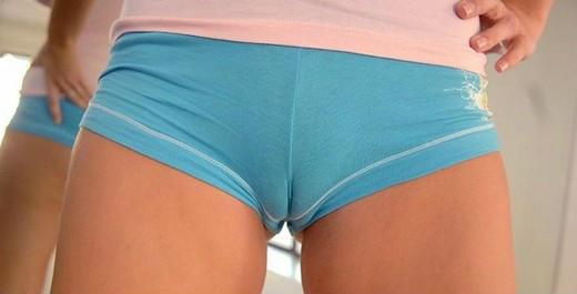 风骚美女总爱穿挤b裤