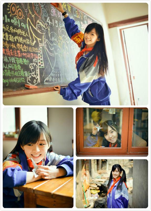 日本女生的水手服一直都是读者们特别向往的一种服装