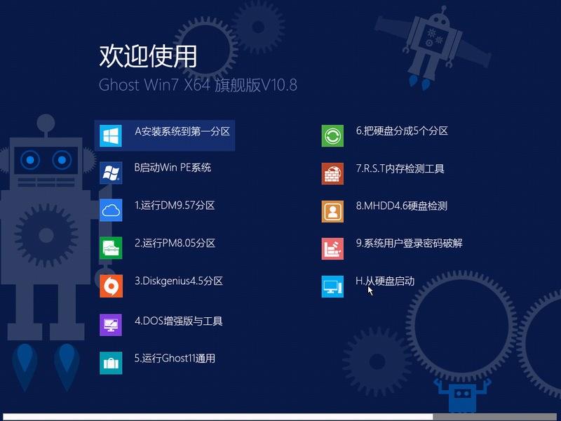 OSWHY精品推荐Ghost Win7 SP1 64位旗舰版V10.8下载