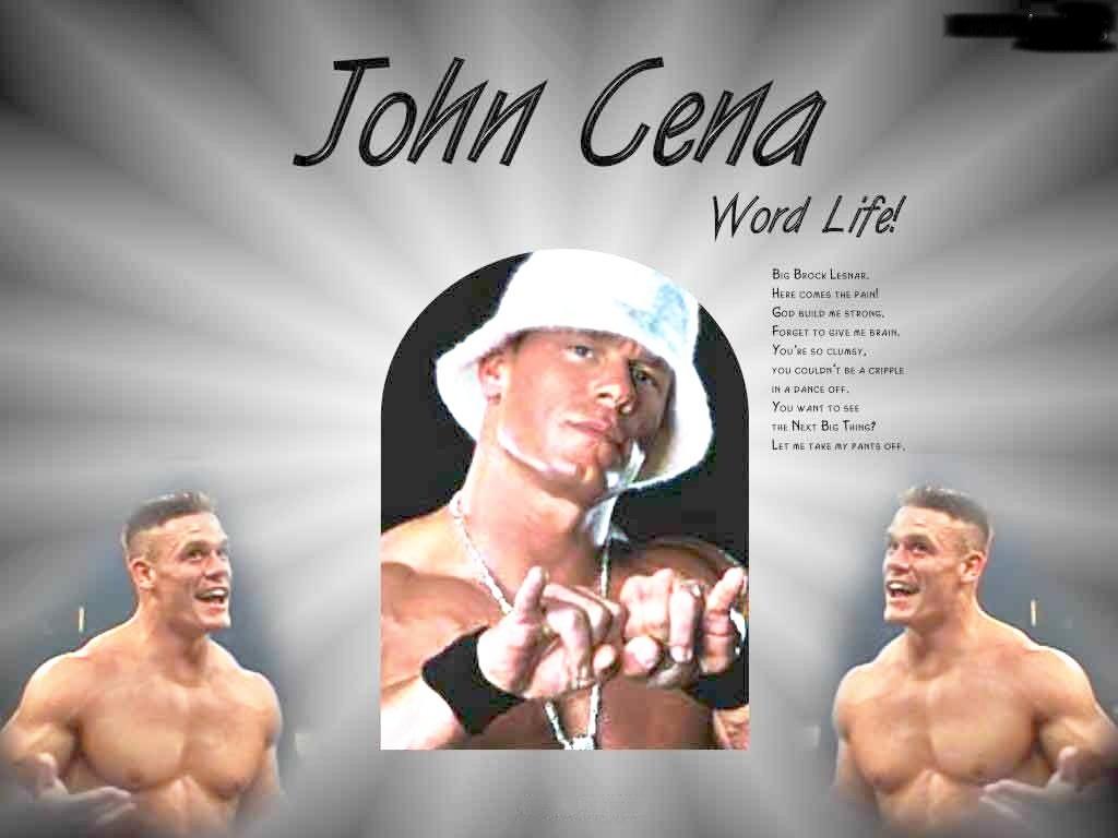 约翰塞纳的摔跤手快乐壁纸和图