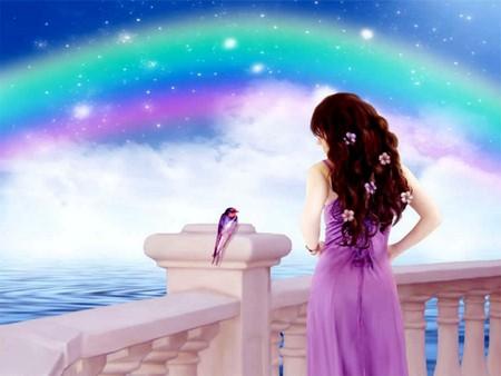 彩虹之上。【原】 - 婉约灵子 - 岁月静好