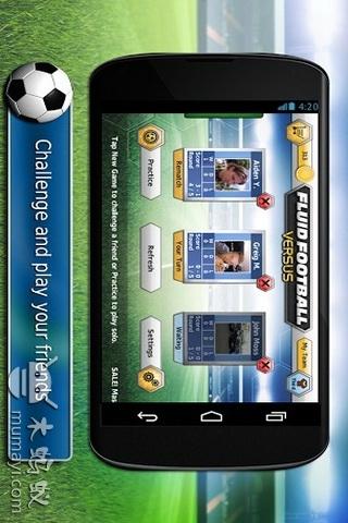 玩免費體育競技APP 下載触屏足球大战 Fluid Football Versus app不用錢 硬是要APP