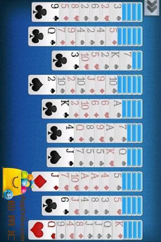 蜘蛛紙牌中文版下載_蜘蛛紙牌單機遊戲下載_3234遊戲網