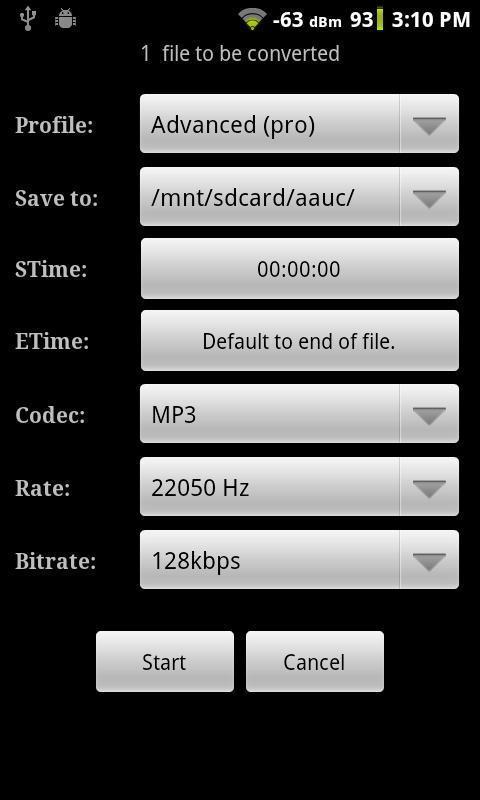 Android的音频编辑器