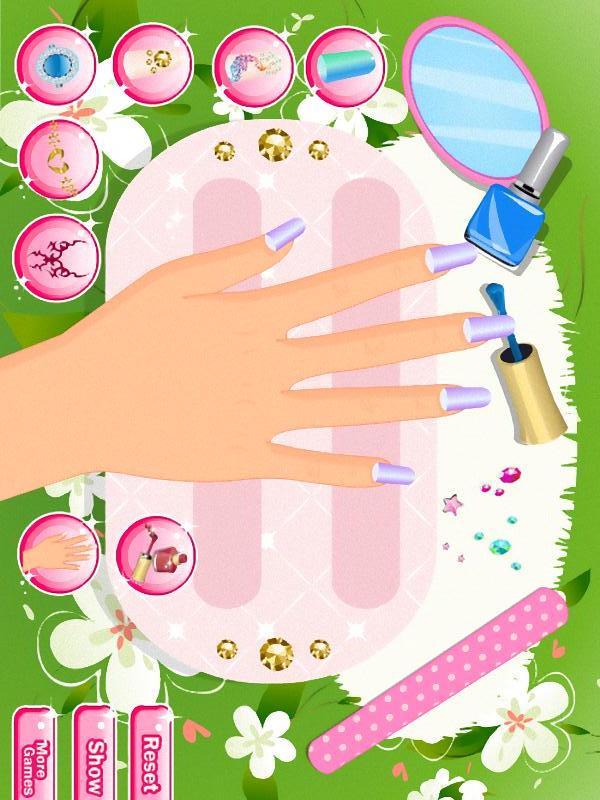 美丽的指甲沙龙|玩遊戲App免費|玩APPs