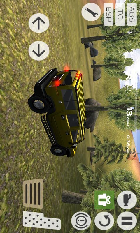 超级四驱越野车-应用截图