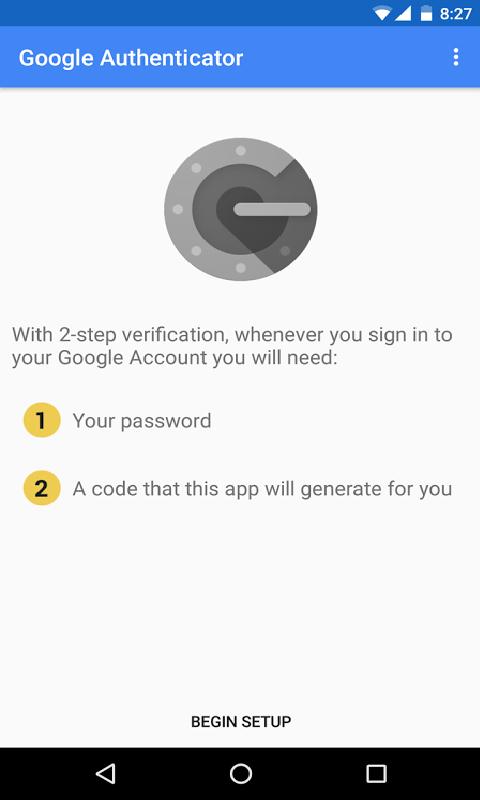 身份验证器-应用截图