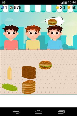 汉堡销售游戏