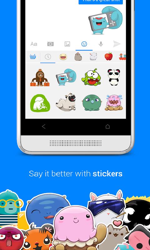 Messenger-应用截图