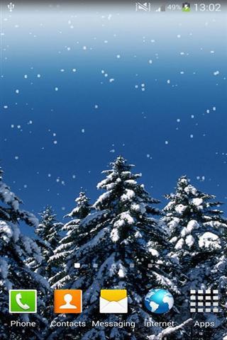 降雪 动态壁纸