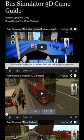 总线仿真3D指南 Bus Simulator 3D Guide