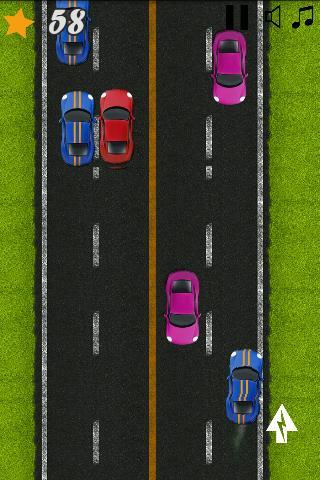公路高速汽车赛车