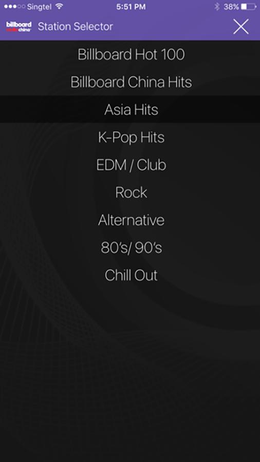 Billboard 中国-应用截图
