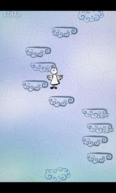 涂鸦天使跳跃