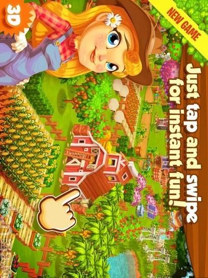 夢幻農場連連看-小二館小遊戲