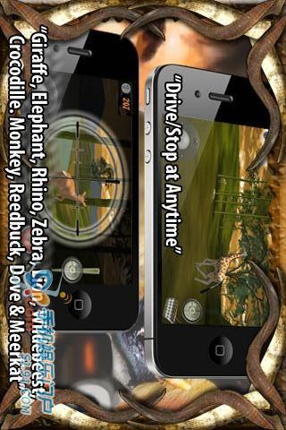 丛林狩猎 4x4 Safari-应用截图