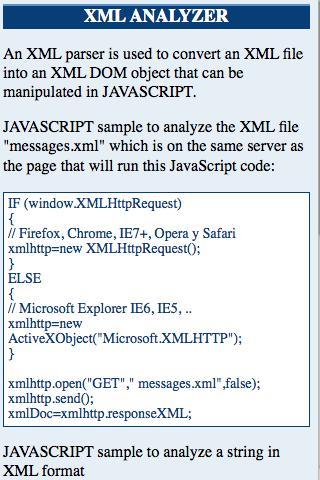 玩免費模擬APP|下載XML JAVASCRIPT TUTORIAL app不用錢|硬是要APP