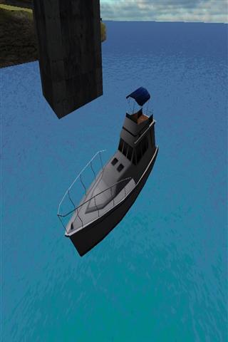 船停泊3D
