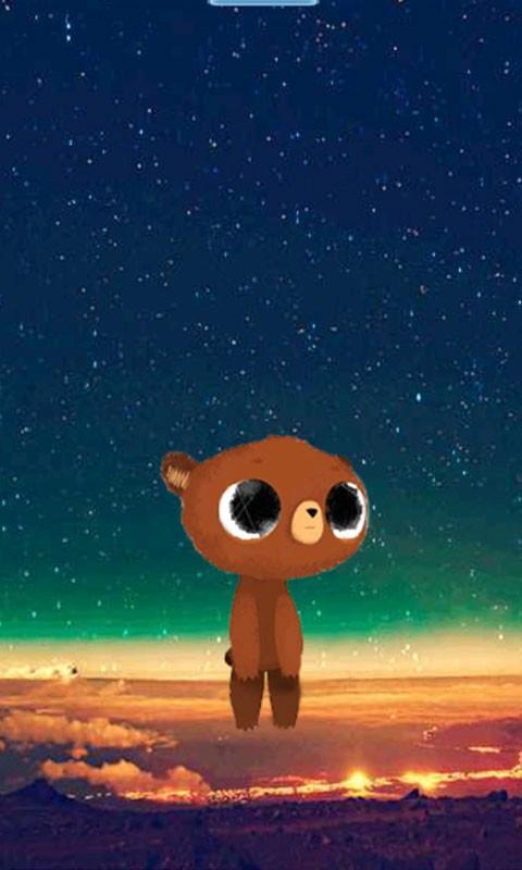 可爱小熊-BOBO动态壁纸