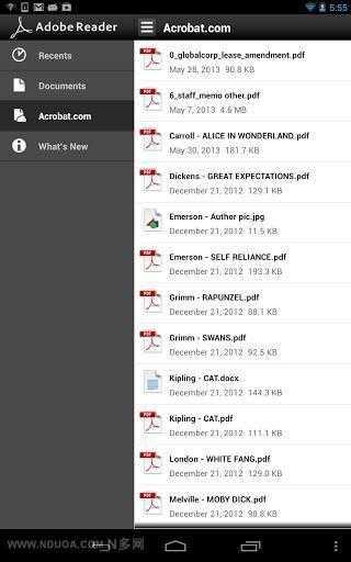 PDF阅读器Adobe reader-应用截图