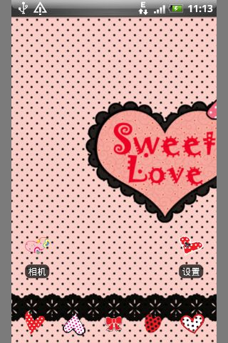 甜甜的爱-桌面主题