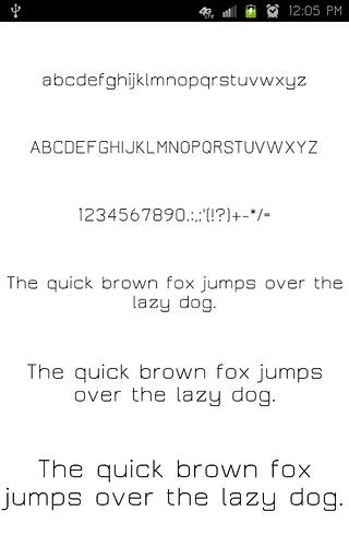 【免費工具App】Clean Fonts-APP點子