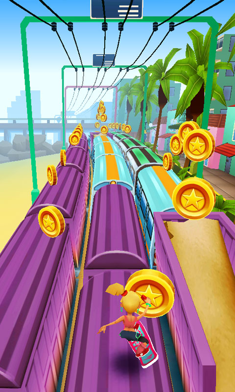 地铁跑酷:Subway Surfers手机游戏下载 安卓游戏下载 益智游戏 ...