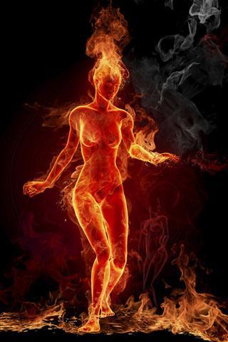 3D火焰动态壁纸