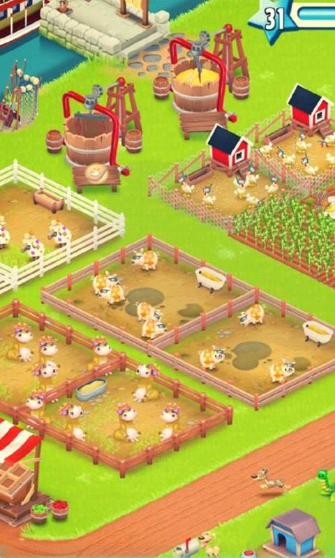 卡通农场HayDay1-3D桌面壁纸