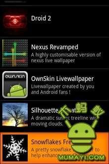 华丽Nexus动态壁纸-应用截图