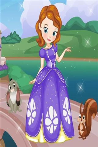 玩遊戲App|索非亚第一换装 Sofia The First Dress Up免費|APP試玩