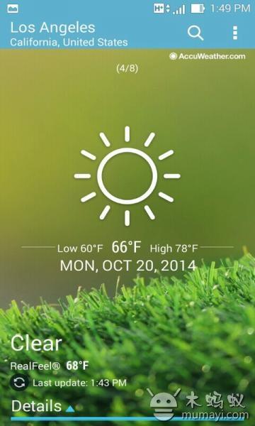 天气-应用截图