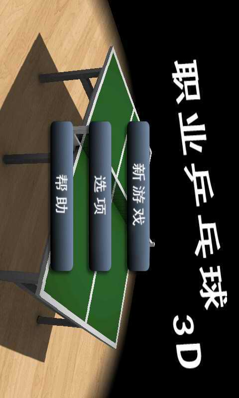 3D职业乒乓球