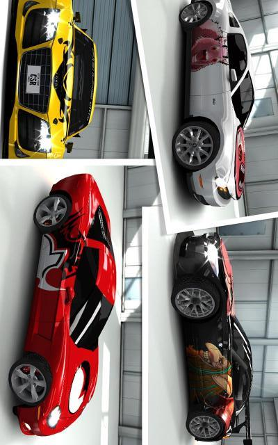 CSR赛车-应用截图