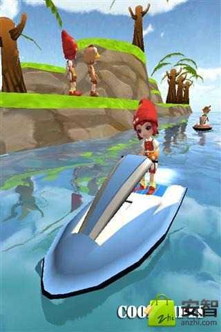 水上喷气滑水 賽車遊戲 App-癮科技App