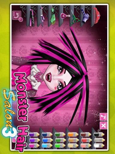 【免費遊戲App】怪物女孩美发沙龙-APP點子