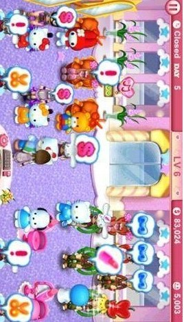 凯蒂猫的美容店 Hello Kitty Beauty Salon!! 遊戲 App-癮科技App