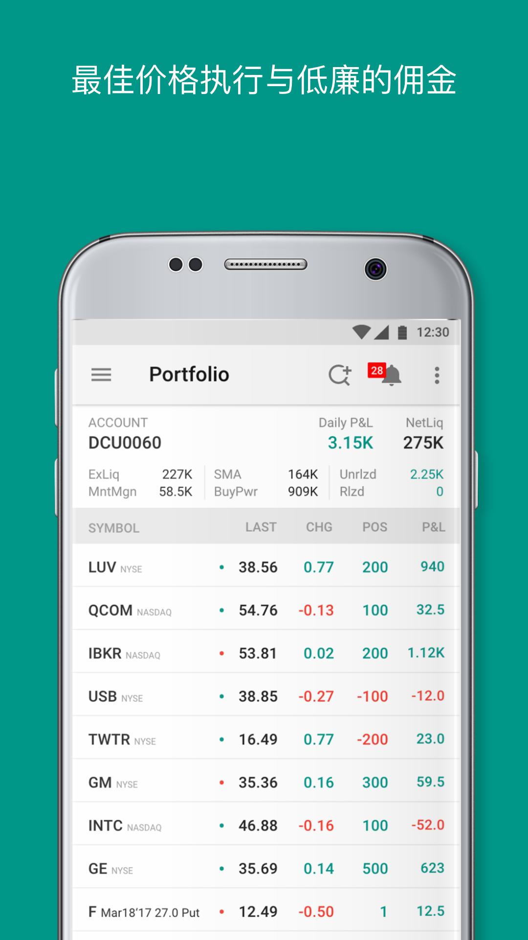 IBKR Mobile-应用截图