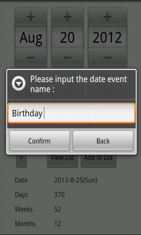 Date Calculator-应用截图
