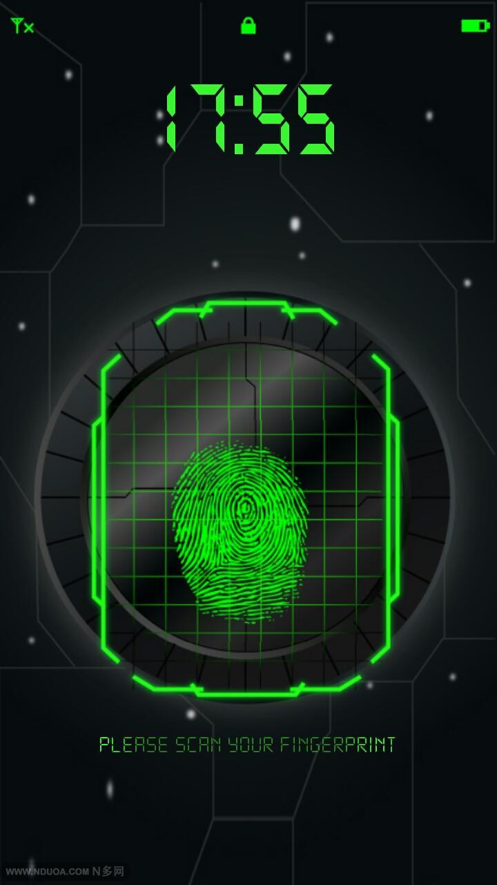 指纹解锁-应用截图