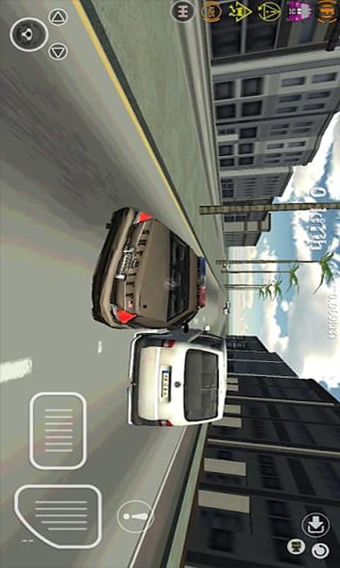 3D模拟警车-应用截图