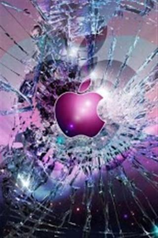 手机屏幕破碎壁纸 手机屏幕破碎壁纸逼真 手机右边屏幕破碎壁纸图片
