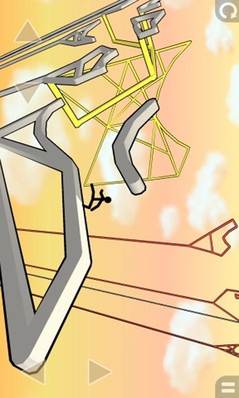 火柴人高空跑酷游戏-应用截图