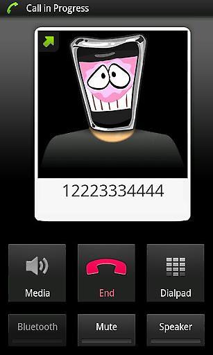 古怪变声打电话