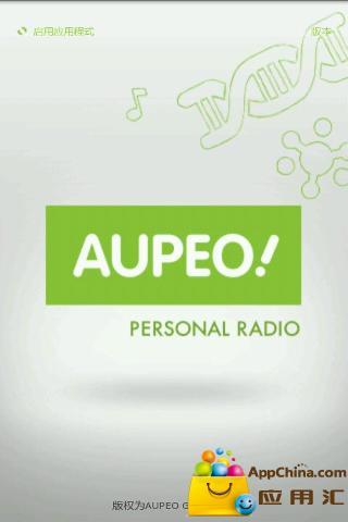 【免費媒體與影片App】AUPEO个性电台-APP點子