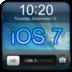 iOS 7 锁屏 個人化 App LOGO-APP試玩