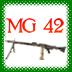 机枪42 MG-42 Gun LOGO-APP點子
