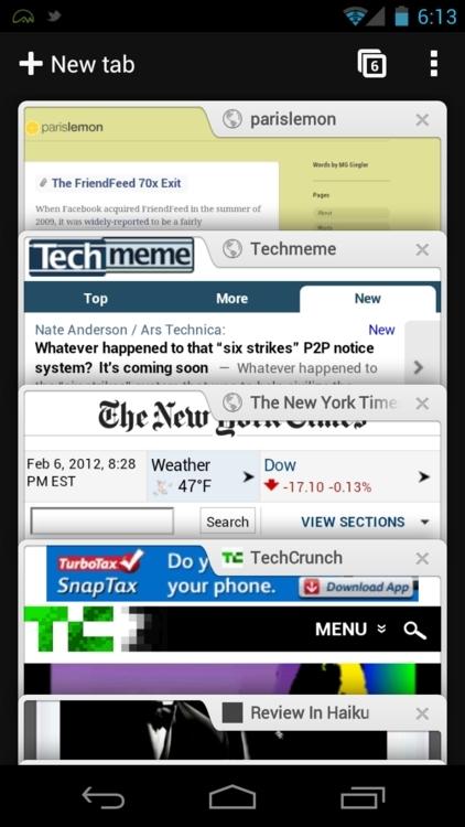 Chrome-应用截图