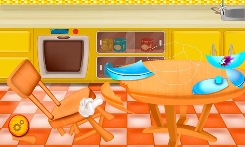 欢乐宝贝做饭厨房-应用截图
