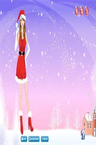 圣诞装扮游戏